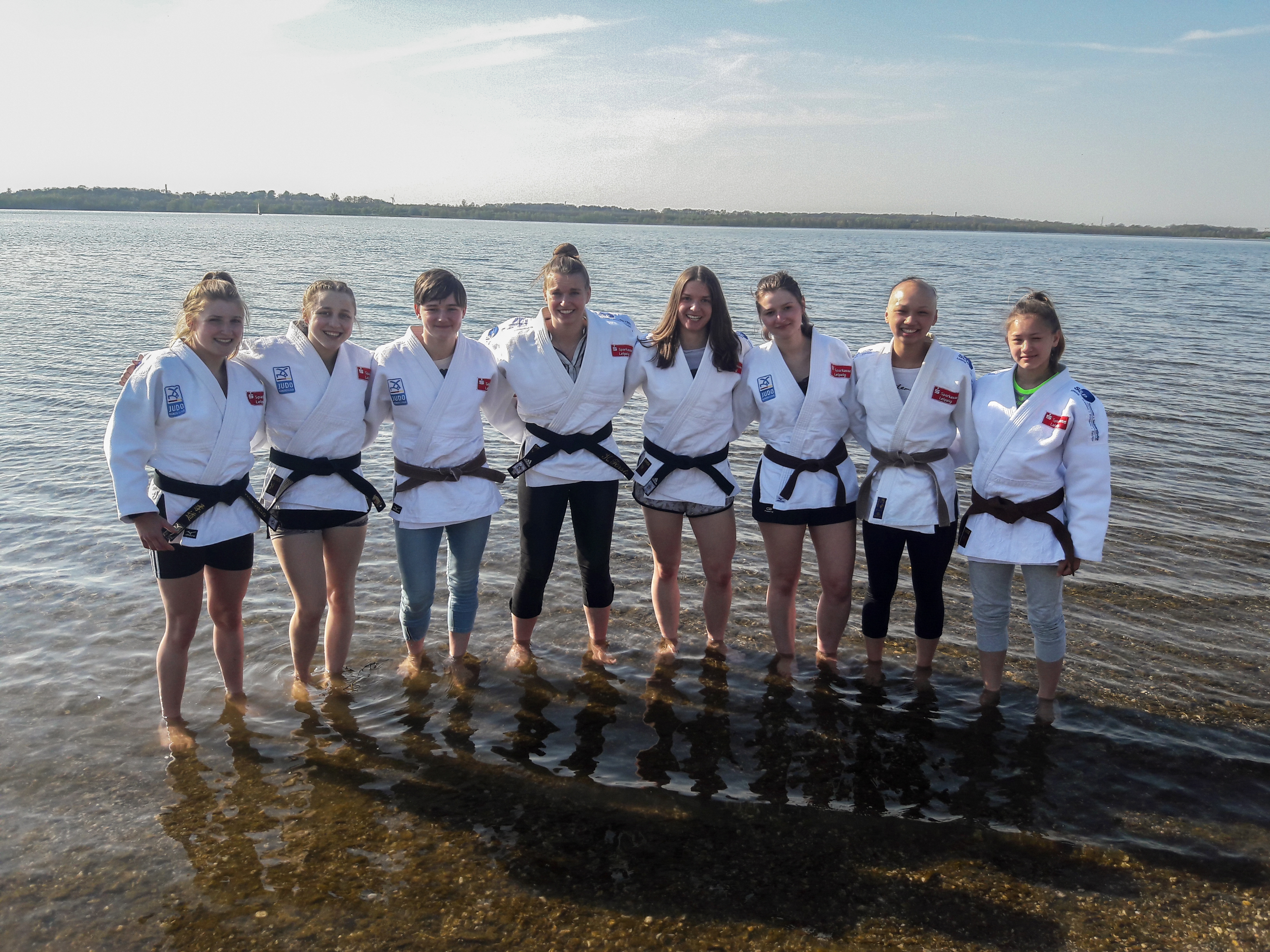 JCL Powerfrauen – Team-Meeting am Cospudener See