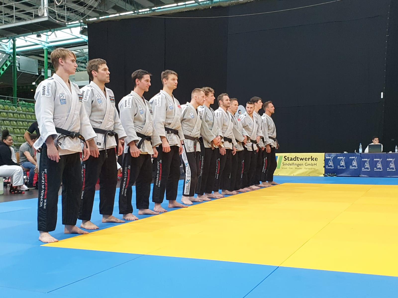 1.Judo Bundesliga – 7 : 7 in Sindelfingen