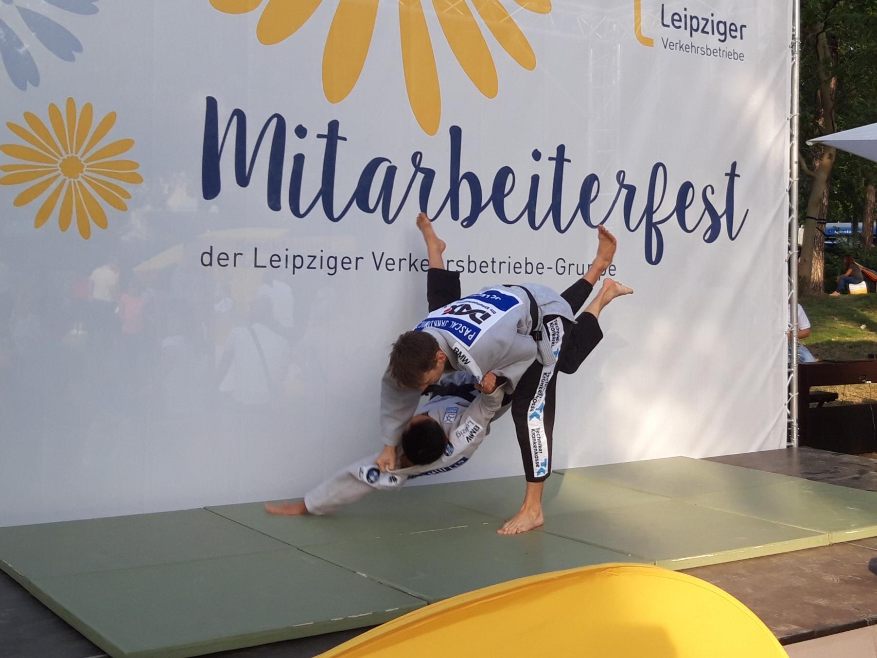 JC Leipzig wiederholt beim Mitarbeiterfest der Leipziger Group