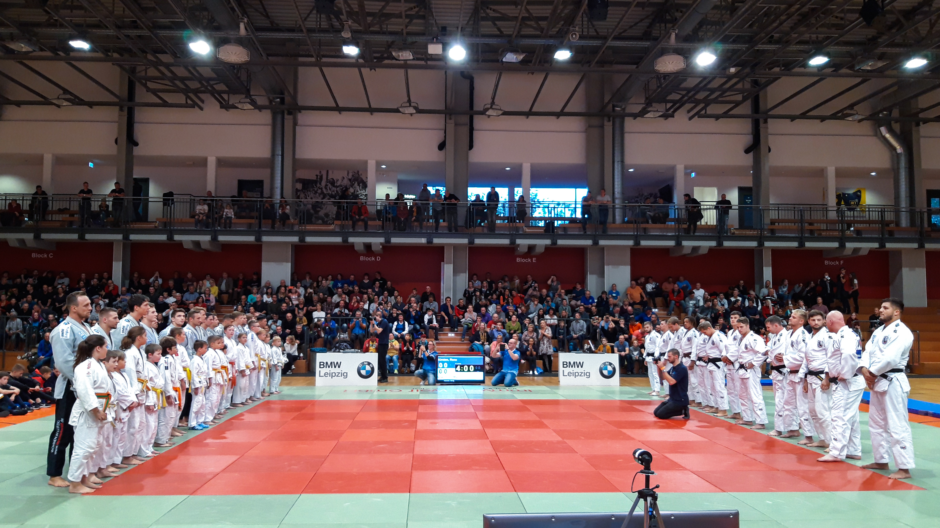 1.Judo Bundesliga – 9 : 5 Niederlage am letzten Kampftag gegen Rekordmeister Abensberg
