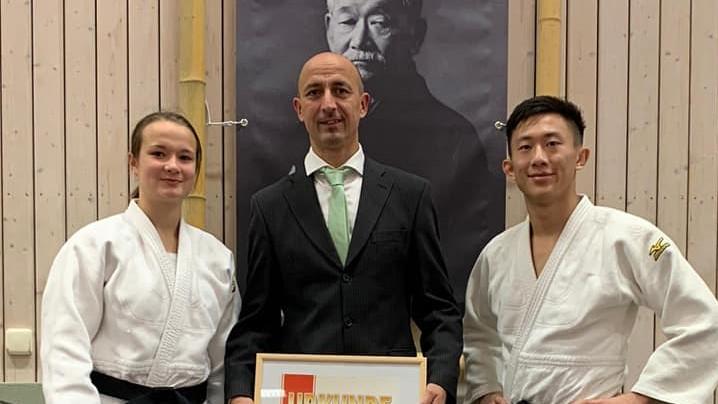 Herzlichen Glückwunsch an Helene Foede und Dr. André Herz