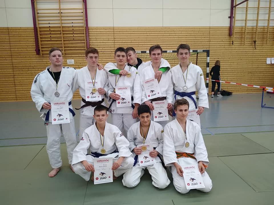 Elf Medaillen bei der Bezirkseinzelmeisterschaft in Leipzig