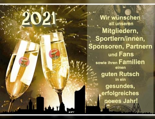 Der Judoclub Leipzig e.V. bedankt sich recht herzlich für das Jahr 2020