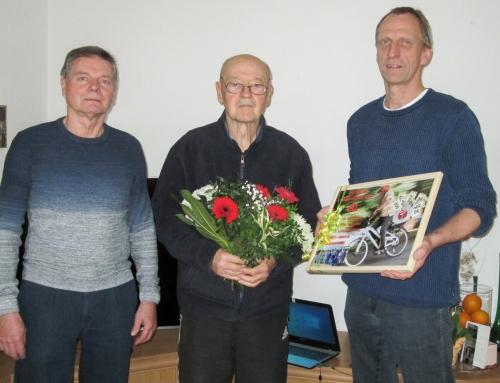 Unser Heinz Mücke feiert seinen 80.Geburtstag