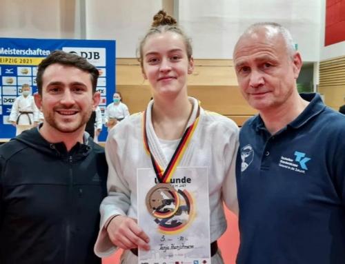 Bronze für Tanja Hanschmann bei der DEM U18 in Leipzig